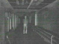 фигура человека при инфракрасной подсветке